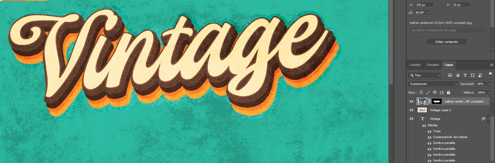 texturas vintage