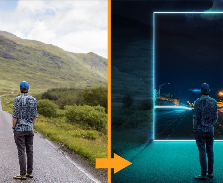 Efectos de iluminación neón con Photoshop: Videotutorial