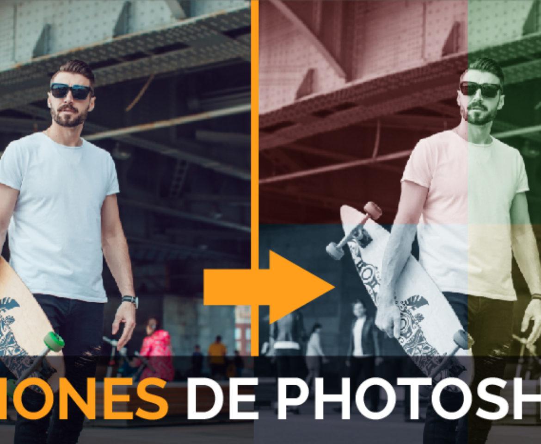 Acciones Photoshop: Qué son y como aplicar acciones en Photoshop fácilmente