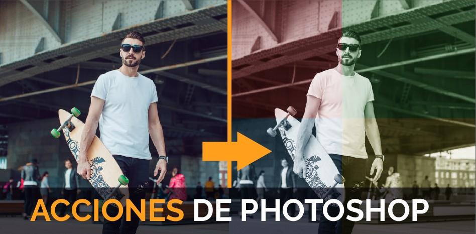 Acciones de Photoshop
