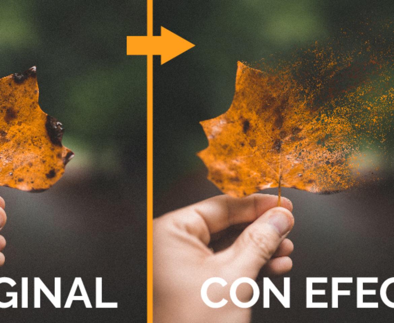 Crea un ASOMBROSO EFECTO DE DISPERSIÓN a cualquier imagen muy fácilmente