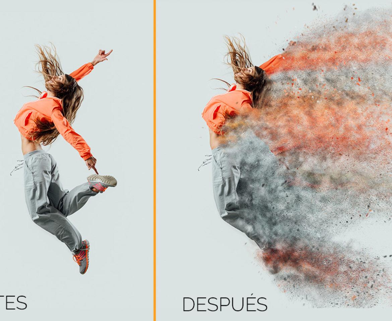 Efecto de desintegrar con Photoshop en 5 sencillos pasos