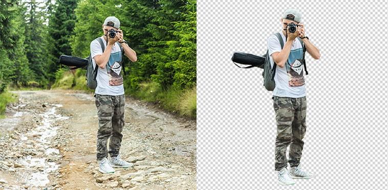 Como quitar fondos en Photoshop