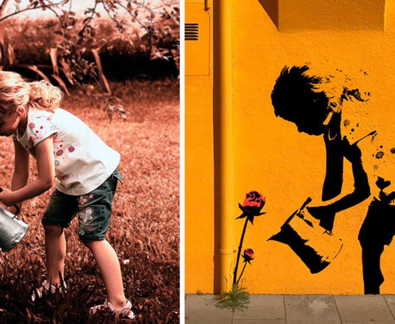 Stencil: Crea un efecto de graffiti con Photoshop al estilo de Banksy
