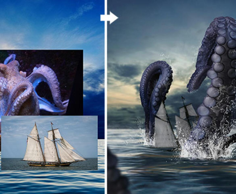 Igualar colores y mezclar fotos Kraken   Parte 1