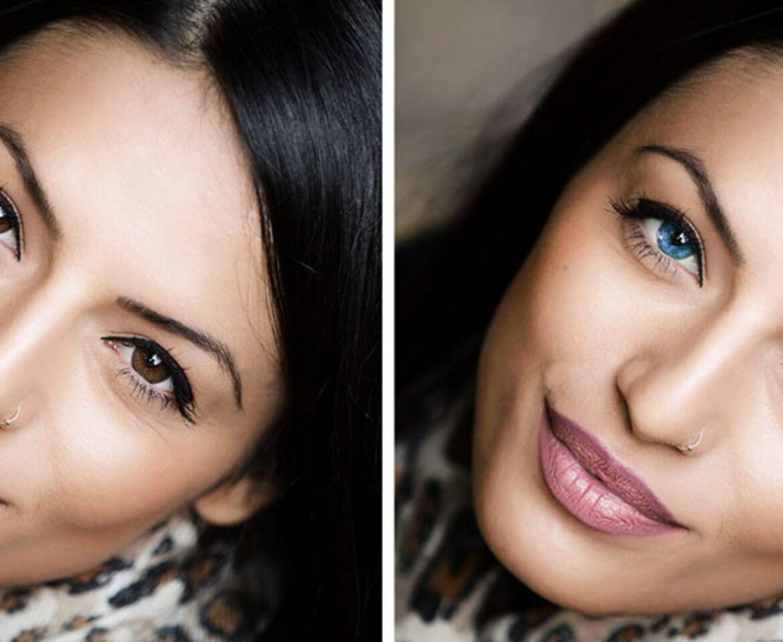 Photoshop cambiar color de ojos