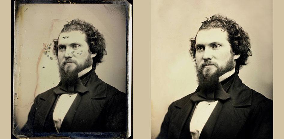Como restaurar una foto antigua