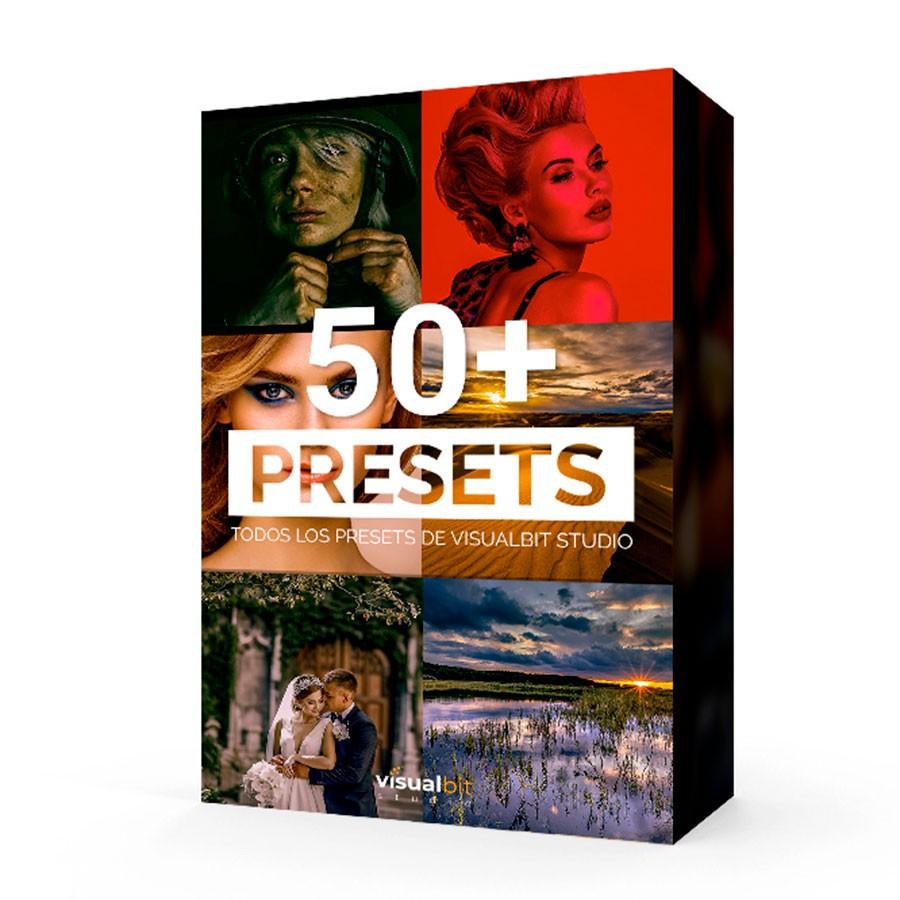 Más de 50 Presets