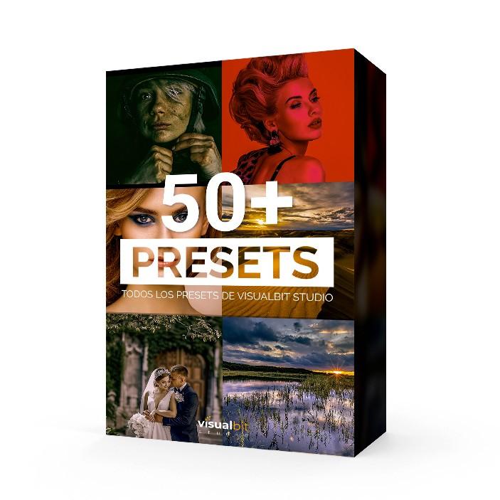 PORTADA 50+ PRESETS
