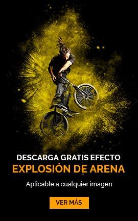 accion gratis explosion de arena