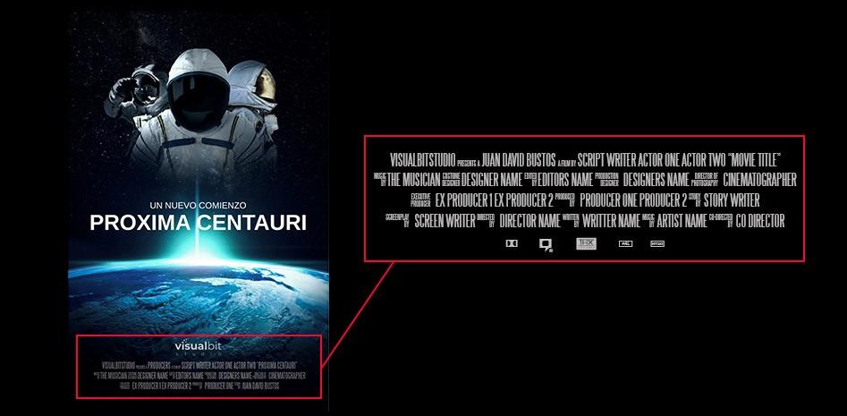 Featured image creditos poster de pelicula