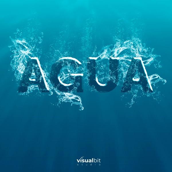 Efecto Agua | Acción de Photoshop