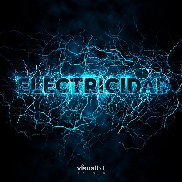 Efecto Electricidad | Acción de Photoshop
