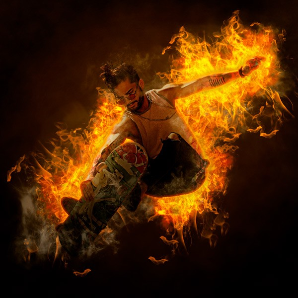 Efecto Fuego | Acción de Photoshop