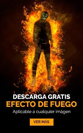 efecto de fuego gratis
