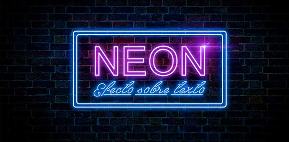 Efecto neon textos featured