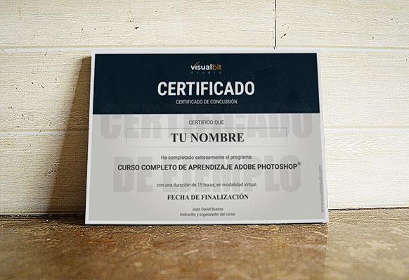 Certificado curso completo