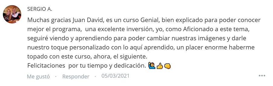 Opinión Sergio