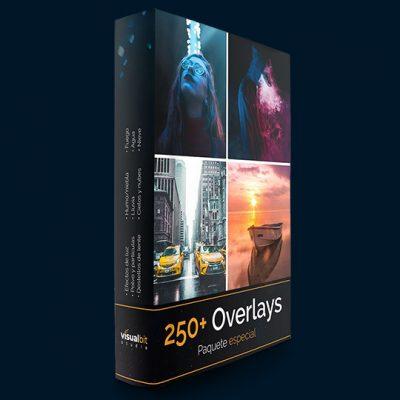 250 overlays Photoshop